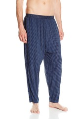 Emporio Armani Men's Tonal Collection Viscose Classic Lounge Pant