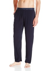 Emporio Armani Men's Tonal Collection Viscose Pajama Pants