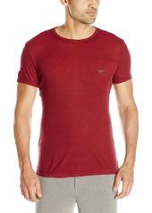 Emporio Armani Men's Viscose Crew Neck T-Shirt