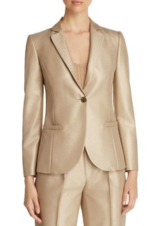 Emporio Armani Metallic Single-Button Blazer