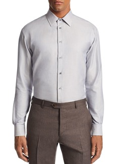 Emporio Armani Micro-Check Print Tailored Fit Shirt