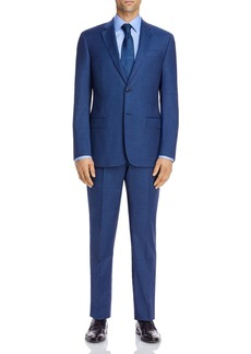 Emporio Armani Micro-Check Regular Fit Suit