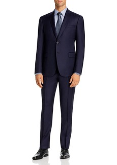 Emporio Armani Micro-Check Virgin Wool Regular Fit Suit - 100% Exclusive