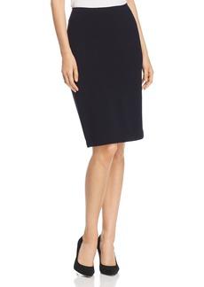 Emporio Armani Micro-Rib Pencil Skirt