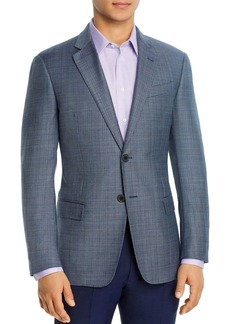 Emporio Armani Micro-Stitch Regular Fit Blazer