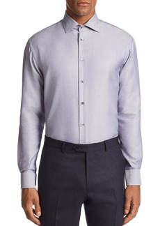 Emporio Armani Micro-Striped Tailored Fit Shirt