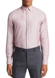 Emporio Armani Micro-Weave Tailored Fit Shirt