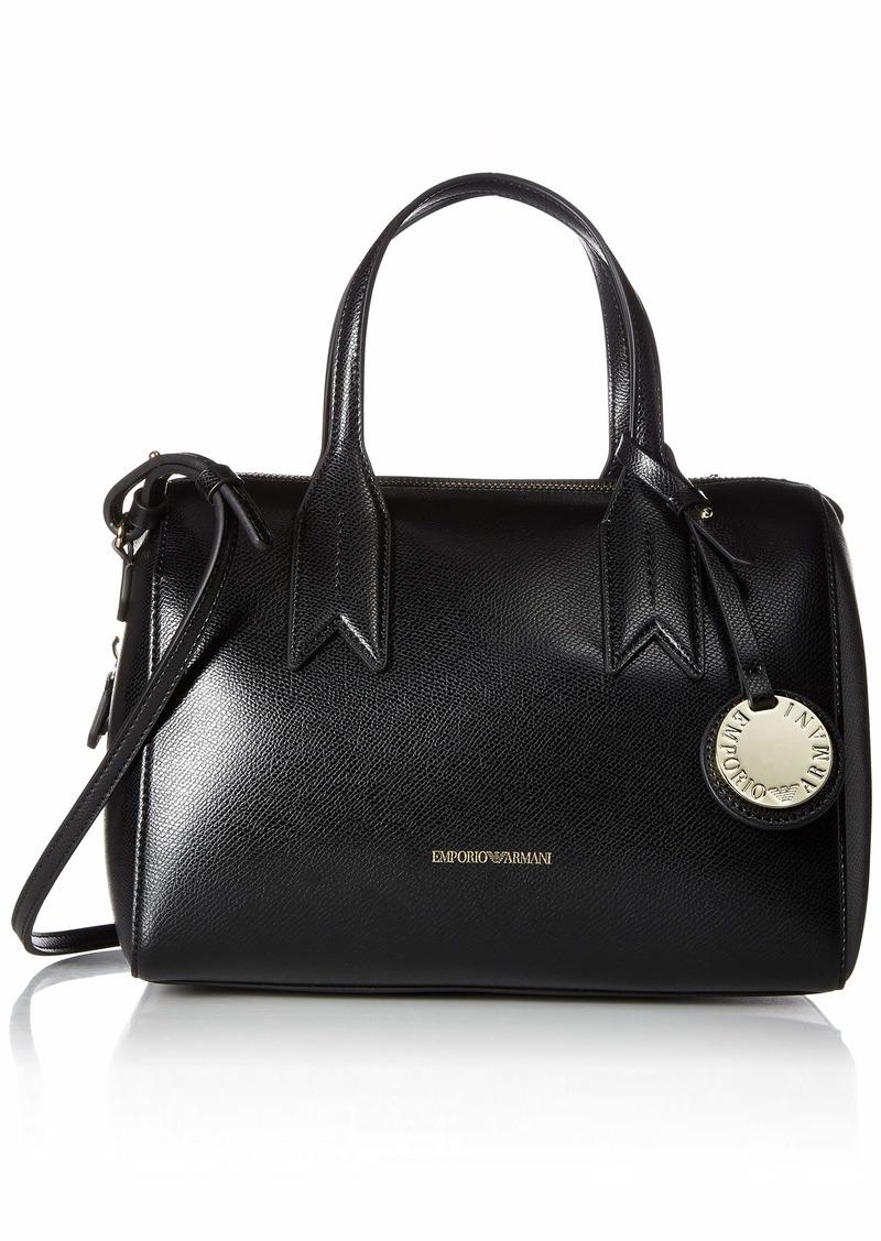 Armani Emporio Armani Mini Satchel with Money Pouch Black red   Handbags 38b331fdfa