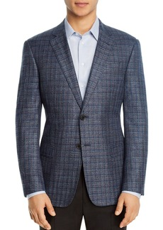 Emporio Armani Multi-Check Regular Fit Blazer