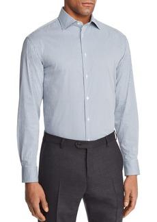 Emporio Armani Multi Color Check Slim Fit Button-Down Shirt
