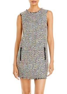 Emporio Armani Multi Colored Tweed Dress