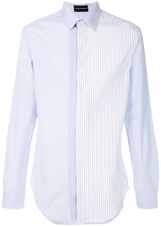 Emporio Armani multi-stripe shirt - White