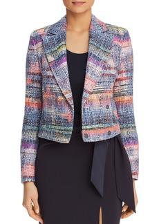 Emporio Armani Multicolor Boucl� Jacket