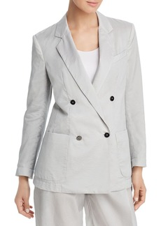 Emporio Armani Oversized Double-Breasted Blazer