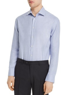 Emporio Armani Patterned Modern Fit Dress Shirt