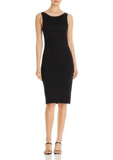 Emporio Armani Pin-Dot Sheath Dress