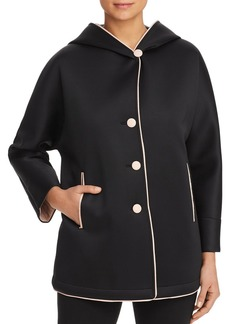 Emporio Armani Piped Hooded Coat