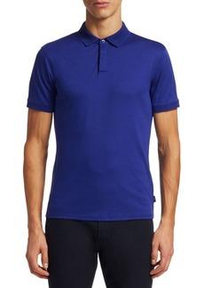 Armani Pique Polo Shirt