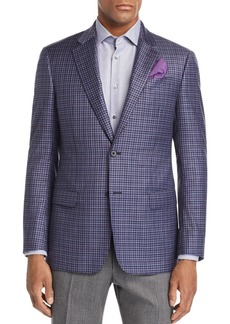 Emporio Armani Plaid Regular Fit Jacket