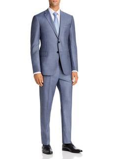 Emporio Armani Plain-Weave Virgin Wool Regular Fit Suit