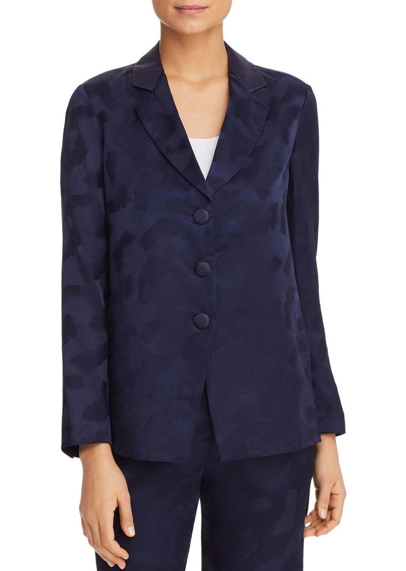 Emporio Armani Printed Crossover-Back Jacket
