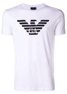 Armani printed logo shirt