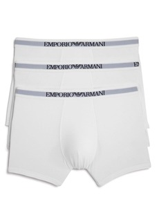 Emporio Armani Pure Cotton Boxer Briefs - Pack of 3