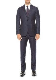 Emporio Armani Regular Fit Solid Wool Suit