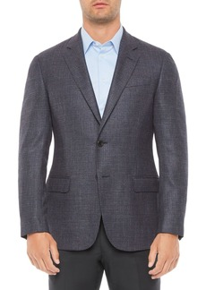 Emporio Armani Regular Fit Wool Blend Jacket