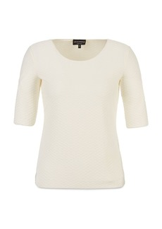 Emporio Armani Scale Embossed Top