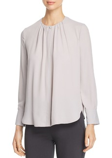Emporio Armani Shirred Blouse