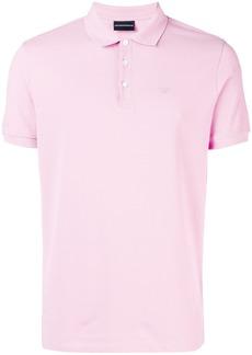 Emporio Armani short sleeve polo shirt - Pink & Purple