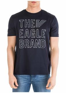 Emporio Armani Short Sleeve T-shirt Crew Neckline Jumper Regular Fit