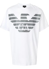Armani short sleeved logo T-shirt