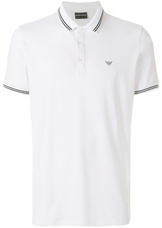 Armani short sleeved polo shirt