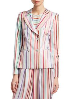 Silk Candy Stripe Jacket