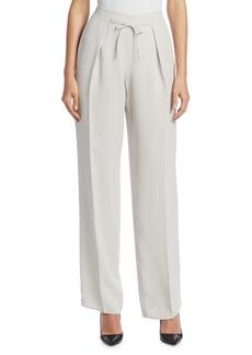Armani Silk Drawstring Pants
