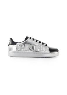 Emporio Armani Silver Black Sneaker