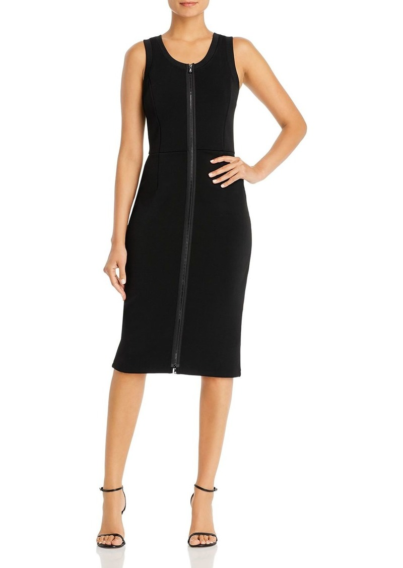 Emporio Armani Sleeveless Zip Sheath Dress