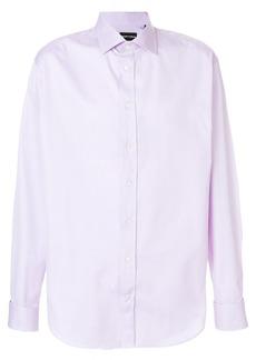 Emporio Armani slim fit shirt - Pink & Purple