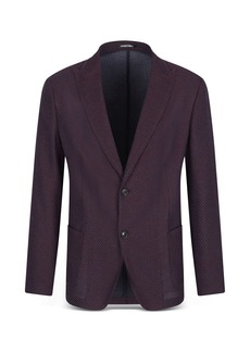 Emporio Armani Slim Fit Textured Suit Jacket