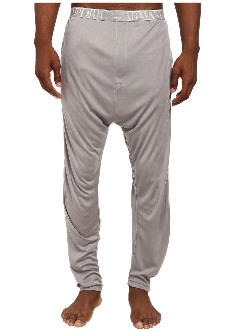 Emporio Armani Soft Interlock Loungewear Bottom