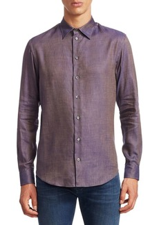 Armani Solairo Regular-Fit Button-Down Shirt