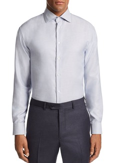Emporio Armani Stitched-Stripe Tailored Fit Shirt