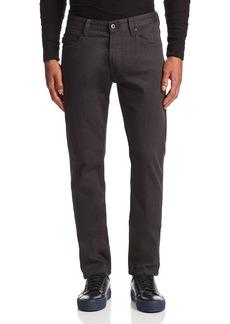 Emporio Armani Straight Fit Jeans in Gray