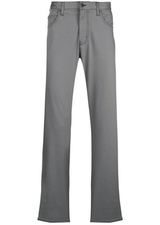 Armani straight leg trousers