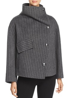 Emporio Armani Striped Wool Jacket