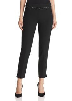 Emporio Armani Studded Cropped Pants