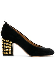 Emporio Armani studded heel pumps - Black