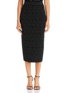 Emporio Armani Textured Midi Pencil Skirt